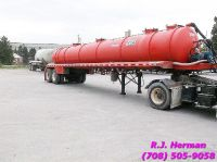 2009 5,460 Gallon Eagle Vac Waste Water Tanker