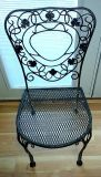 Vintage 1950/1960s wrought iron heavy chair