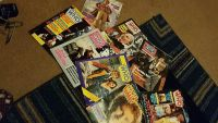 Vintage Doctor Who magazine collection