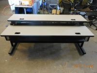 Double tier training table