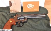 For Sale: Colt Python 6 357 Mag Mirror Royal Blue Finish with Box