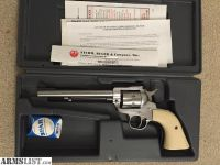 For Sale: Ruger new model single six