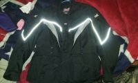 Black Xl(42) Riding Jacket and Black size 11 Riding Boots