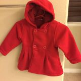 Red Hooded Jacket for 2t girl