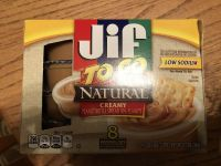 Jif peanut butter to go