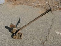 Push Mower Edger c. 1940's