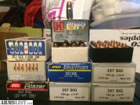 For Sale: .357 Sig Ammo
