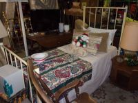 Metal Framed Twin Size Bed