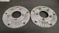 Cragar wide 5 to chevy wheel adapters