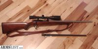For Sale: Ruger M77 22 Magnum w/ a Stainless Fluted .17hmr Barrel