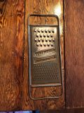 Old cheese grater