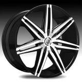 "Purchase Lexani Johnson 2 24"" Wheels Tires Black Chrome Dodge Ram 1500 Durango Dakota motorcycle in Victorville, California, US, for US $2,899.00"