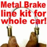 Buy Brake Line kit Corvair, Monza 1957 1958 1959 1960 1961 1966 1967 1968 1969 1970 motorcycle in Duluth, Minnesota, United States, for US $46.99