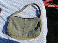 small purse Levis brand corduroy olive colored