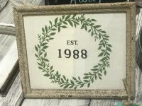 Rustic country frame Est. 1988