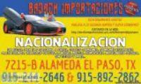 NACIONALIZACION DE AUTOS USADOS- IMPORTACIONES BADACH