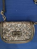 Guess sequined crossbody purse