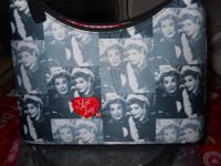"New ""I Love Lucy"" Purse w/Lucy & Ethel"