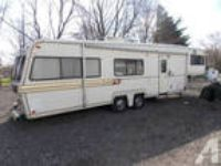34 ft fifth wheel holiday rambler super nice -