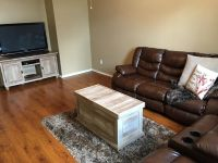 $1,700, Recliner Couches For Sale with Coffee Table and TV Stand