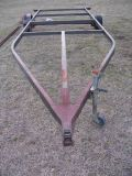 large flat trailer frame