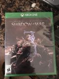 xbox one game - shadow of war