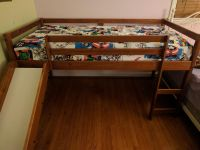 Twin Bed, Espresso (Mattress/Sheet NOT for sale)
