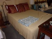 Full Size Bed With Serta Thick Comfort Mattress
