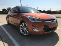 2012 Hyundai Veloster turbo 3dr Cpe Man w/Red Int
