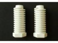NEW OEM PART W10570316 Whirlpool Dryer Feet / SET of 2 /