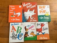 Dr. Seuss Book Lot. 6 Hardcover Books Good Used Condition. Some have names written inside front cover. Take all for $8