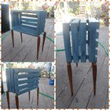 Crate end table or nightstand
