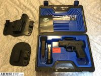 For Sale: FNS 9C w/ Night Sights, Manual Safety and Crossbreed IWB and mag holster