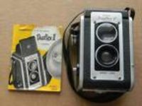 Vintage Kodak Duaflex II Box Camera W/Kodet Lens with
