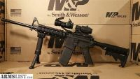 For Sale: S&W AR15 Rifle RED DOT 3X MAGNIFIER AR15