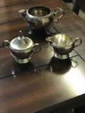 3 Vintage Silver Plated Items