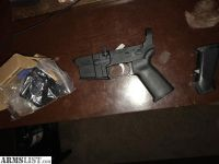 For Sale: AR-15 Lower with lower parts kit installed $130