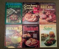 Vintage better homes and gardens cookbooks