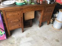 99 Year old Wooden Desk