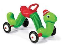 Radio Flyer Inchworm Ride-on