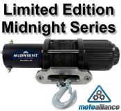 Purchase VIPER MIDNIGHT SERIES 4500lb ATV/UTV Winch with 50 ft BLACK Rope motorcycle in Rogers, Minnesota, United States