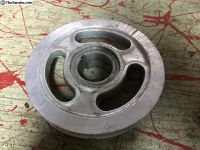 "Old School Aluminum 5.5"" Type 1 Crank Pulley"