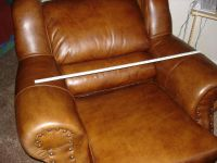 $500, Luxury of Leather Recliner Chair