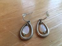 Earrings with Cultured Pearl. French wire