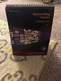 Keyboarding course book