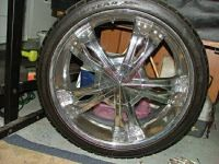 5 lug 22 in Rims and Tires