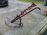 Antique hand plow