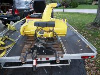 John Deere Tractor Model 46 inch Snowblower w/ Quick Hitch