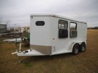 2012 CM Trailers Charger 2 horse bumper pull never used.