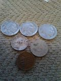9 old coins